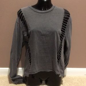 Grey American Eagle Sweatshirt
